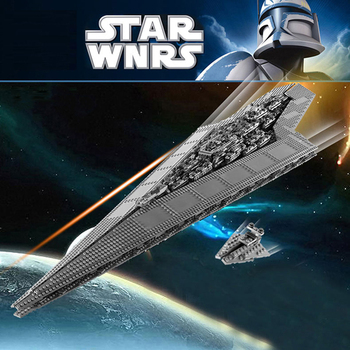 81030 Star Wars Super Star Destroyer Compatible lepinglys 10221 Building blocks bricks Toys Christmas Children birthday Gifts lepin 05062 1359pcs series the imperial super star destroyer set building blocks bricks compatible with 75055 boy toy
