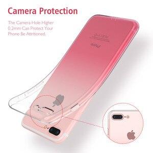 Image 3 - FLOVEME Gradien чехол для iPhone 11 прозрачный мягкий чехол для iPhone 7 чехлы для iPhone 11 Pro Max XR/XS Max/X 6/6S/7/8 Plus чехол
