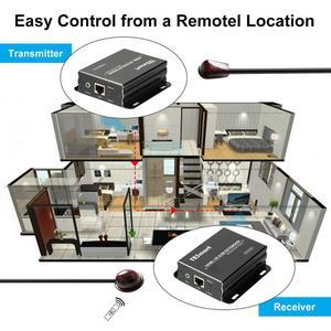 Image 5 - 60M HDMI KVM Extender by CAT5e/6 1080P@60Hz EDID Transmitter+Receiver