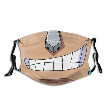 Mascarilla de Franky de One Piece Mascarillas de Anime Mascarillas de One piece Merchandising de One Piece