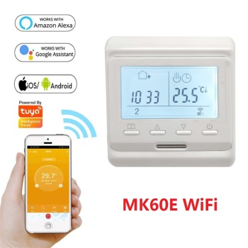220V LCD Programmable Electric Digital Floor Heating Room Air WiFi Thermostat Warm Floor Controller( 1PC) 1