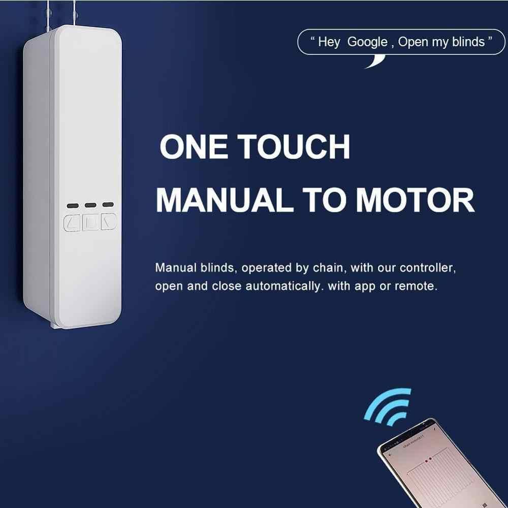 Controlador de persiana Enrollable WiFi Motor de Obturador Enrollable de Bricolaje Tuya//Smart Life App Control de Voz Trabaja con Alexa Asistente de Google YHLVE Kit de automatizaci/ón de persianas