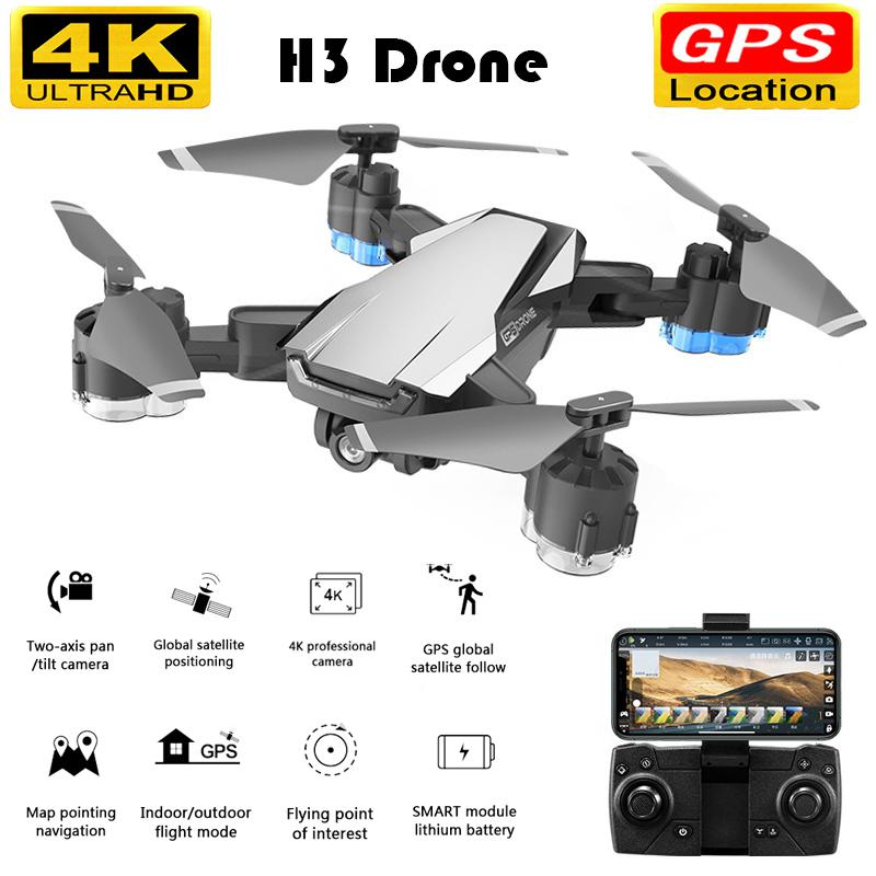 Drone GPS 5G WIFI And 4K HD Wide-angle Camera FPV Drone X Pro Foldable Quadcopter Flight 20 Minutes Aerial Drone Vs E520S SG907