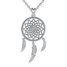 Ожерелье с подвеской в виде Ловец снов из стерлингового серебра