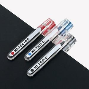 Image 3 - 10 قطعة الطيار HI TEC C هلام القلم BLLH 20C3 BLLH 20C4 BLLH 20C5 0.3 مللي متر 0.4 مللي متر 0.5 مللي متر 0.25 مللي متر المالية القلم اليابان