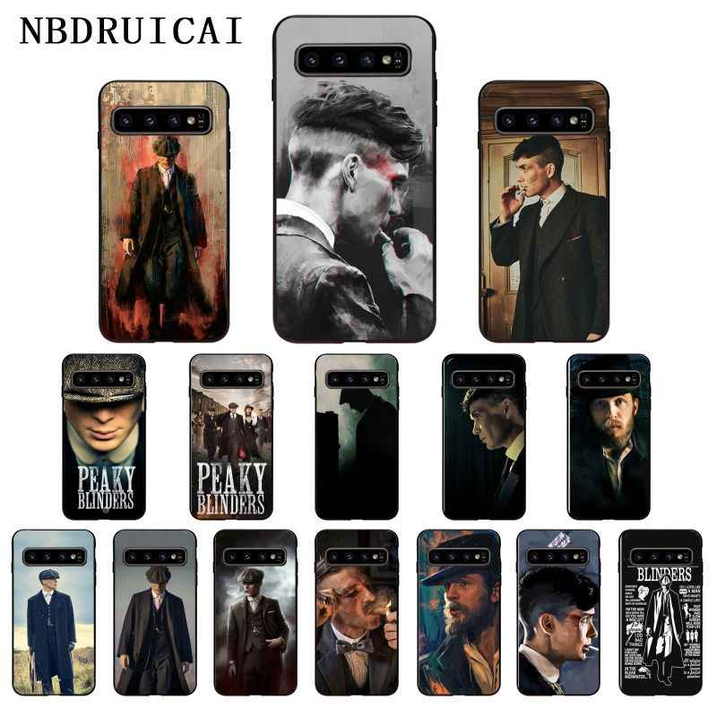 NBDRUICAI Bloodshed Gang Thomas Shelby High Phone Case for Samsung Note 3 4 5 7 8 9 10 pro A7 2018 A10 A40 A50 A70 J7 2018