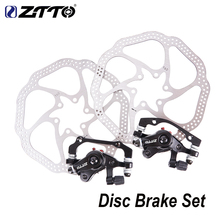 ZTTO MTB Bicycle Front Rear Brake Disc For XC Mountain Bike Mechanical Set with 160mm Rotor Lever