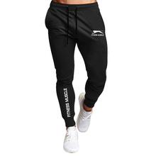 Hot sale printing casual Mens Casual Slim Fit Tracksuit Sports Male Gym Cotton Skinny Joggers Sweat Casual Pants Trousers