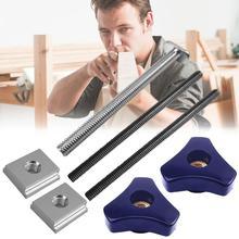 М6 М8 гайка резьбовой стержень Т-образного следа скольжения джиг приспособление пильного стола желоб для маршрутизатор стол деревообработка ленточные пилы DIY инструменты