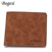 Slim Wallet Male Purse Cuzdan Card-Holder Money-Bag Thin Small Vintage Mini Kashelek