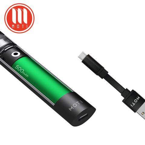 Original MOTI Refillable Vape Kit 1.8ML Vape Pod 500mAh Battery Portable MOTI Electronic Cigarette Shisha Pen E-cigs Vape Pod Karachi