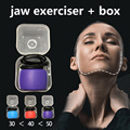 jaw exerciser massaging ball Fitness Face Masseter men facial pop go mouth jawline Jaw Muscle Exerciser chew ball training gift