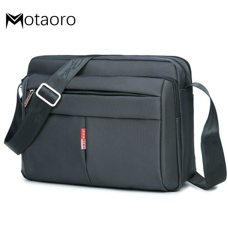 Small Capacity Briefcases Men Messenger Briefcase Waterproof Nylon Male Business Shoulder Bags For IPAD Bolso Hombre Sac Homme