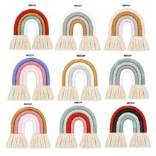 Rainbow Wall Decor for Bedroom Nursery Baby Kids Rooms Tapestry Wall Hanging P31B