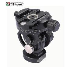 IShoot 2D 360 Panorama panoramiczny głowica kulowa do statyw kamery Monopod Ballhead Quick Release Plate Monpod głowy 2 sposób