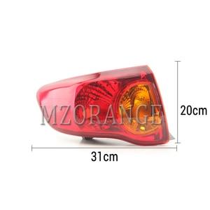 Image 4 - Mzorange amortecedor traseiro refletor luz para toyota corolla 2008 2009 2010 freio traseiro amortecedor da cauda luz montagem do carro