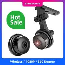 SNOSECURE MINI cámara IP de almacenamiento en la nube WIFI Smart Home 1080P, inalámbrica, visión nocturna, detección de movimiento, Audio bidireccional