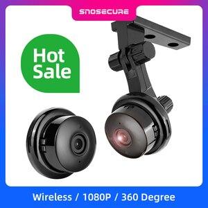 Image 1 - SNOSECURE MINI cámara IP de almacenamiento en la nube WIFI Smart Home 1080P, inalámbrica, visión nocturna, detección de movimiento, Audio bidireccional