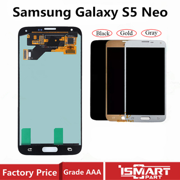 Original LCD for Samsung Galaxy S5 Neo LCD Display Touch Screen Digitizer Assembly AMOLED SM-G903M G903 G903F G903M Replacement image