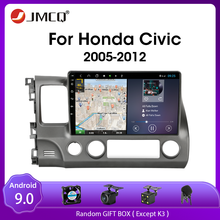 цена на JMCQ Android 9.0 Car Radio Multimedia player For Honda Civic 2005-2012 navigation GPS 2 Din DVD player audio stereo Split Screen