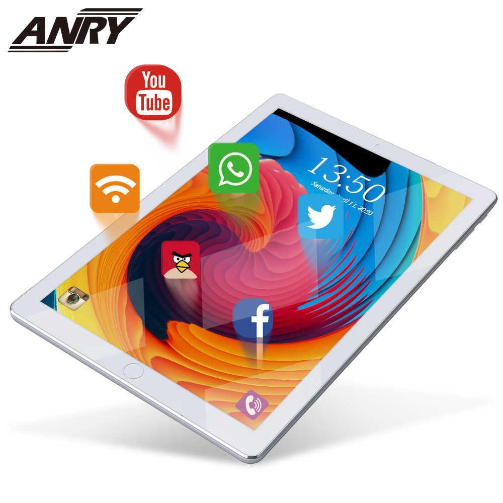Anry 10 Inch Originele Ontwerp 3G Telefoontje Android 7.0 Quad Core 1G + 16G Android Tablet pc Wifi Bluetooth Gps Ips Tabletten 10.1