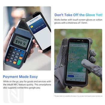 Oukitel WP12 Rugged IP68/69K SmartPhone 4GB+32GB 4000mAh Quad Core Android11 Mobile Phone 5.5'' HD+500W/1300W 13MP Camera Phone 3