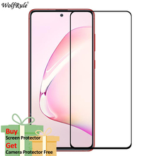 2Pcs Glass For Samsung Galaxy Note10 Lite Screen Protector Full Glue Cover Tempered Glass For Samsung Note 10 Lite Glass Film 2pcs lot 9d full glue cover tempered glass for samsung galaxy m20 m10 m 20 10 full cover screen protector glass film