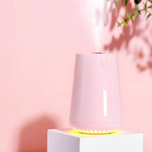 USB Air Humidifier LED Light Essential Oil Diffuser Car&Home Aromatherapy Air Refresher Purifier Mini Humidification цена и фото