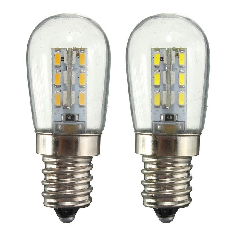 Светодиодная лампа для холодильника, энергосберегающие лампочки для холодильника 3 Вт e12, светодиодная лампа 220 led 110 морозильник, умная ламп...