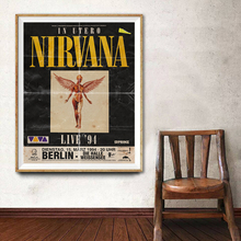 Poster Rock Painting Pictures Decorative Concert Art Canvas Aesthetic-Room Tour Music-Print