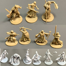 Lot 13pcs 28mm Board Games Miniatures Warsgame Role Playing Figures PVC Toys Collection lot 4pcs blue heroes board games miniatures warsgame role playing figures pvc hobby toys collection