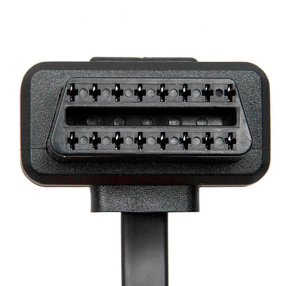 Wholesale 5 pcs 16 Pin Male to Female ELM327 Diagnostic Extension Cables OBD2 Connectors