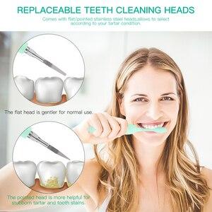 Image 2 - ไฟฟ้าCalculus RemoverฟันทำความสะอาดฟันทันตกรรมScraperฟันขัดฟันคราบยางลบสูงการสั่นสะเทือนความถี่38