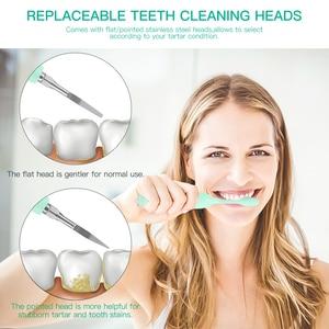 Image 2 - Elektrische Calculus Remover Tanden Whitening Reiniging Dental Tandsteen Schraper Tand Polijstmachine Stain Eraser Hoge Frequentie Trillingen 38