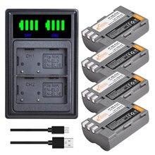 Chargeur de batterie pour appareil photo Nikon, Kits pour D30 D50 D70 D70S D90 D80 D100 D200 D300 D300s D700 SLR