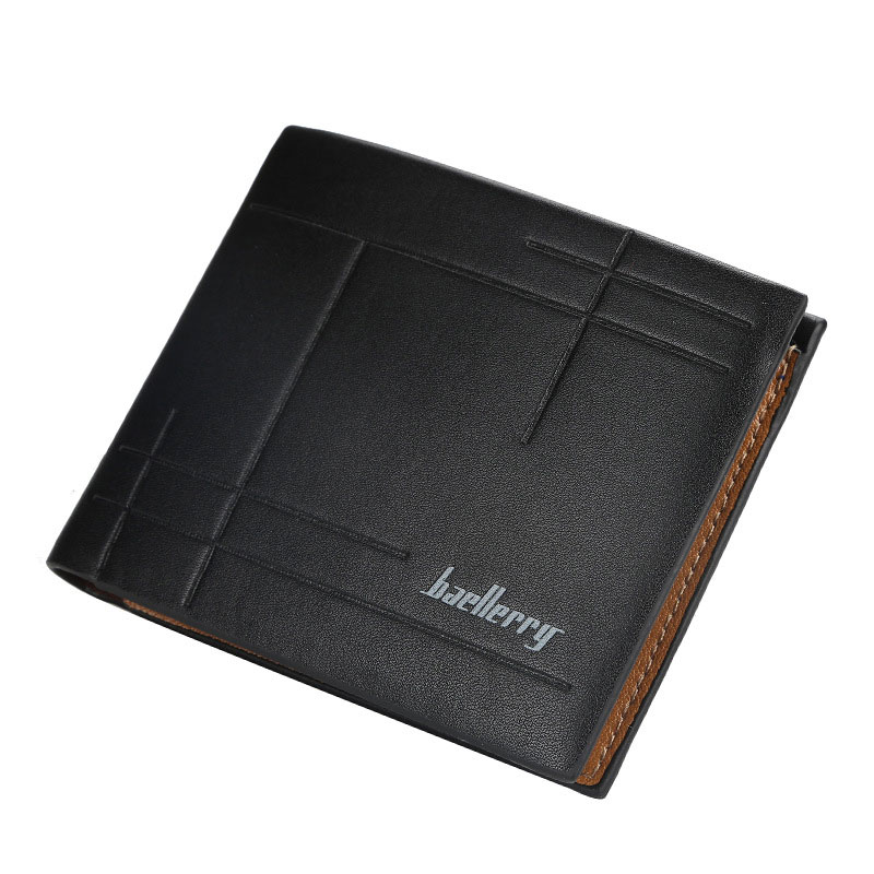 Purses Mens Wallet Luxury Designer Money Purse Black Brown Wallet Men Coin Purse PU Leather Business Card Holder Wallets 2020