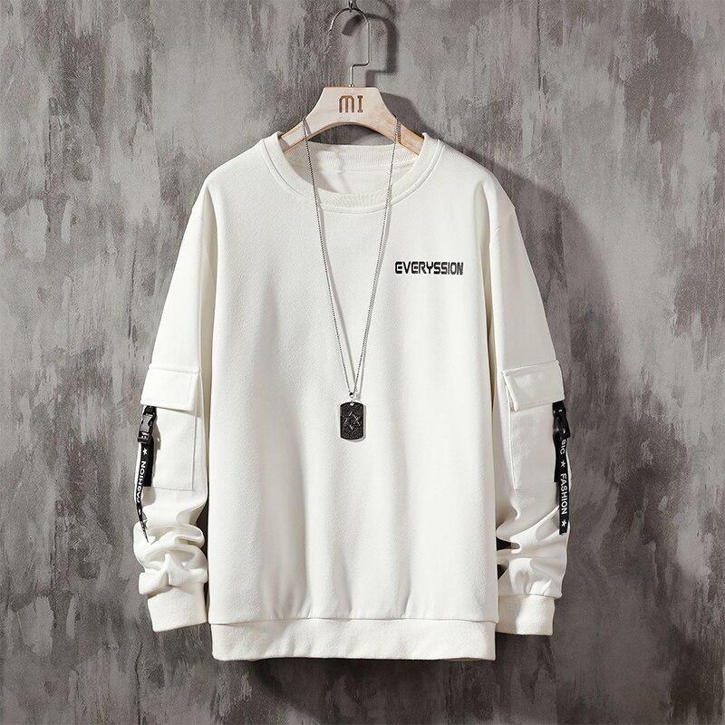 2020 Autumn Men Sweatshirt Fashion Men Quality Sportswear Plus Size Hip Hop Male Streetwear Pullover Men Hoodies & Sweatshirts