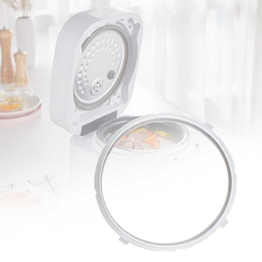 Elektryczny szybkowar pierścień uszczelniający 4L5L6L elektryczny wysokiego ciśnienia kuchenka do gotowania ryżu fartuch silikonowy pierścień ciśnienia kuchenka akcesoria