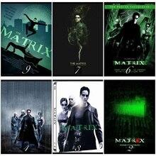 The Matrix Classic  Movie Home Decorative Painting White Kraft Paper Poster 42X30cm