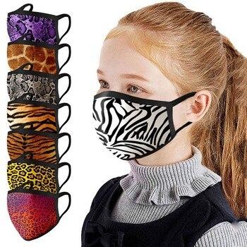 Mask Children Kids Unisex Mouth Caps Breathable Cloth Face Mask Washable Face Mask Reuseable Face Shield mondmasker masque#50 10pcs black mouth mask reusable mask washable face shield masque face mask cloth