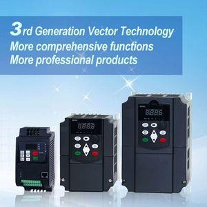 Image 2 - VFD 5.5KW nuevo inversor motor de eje de CNC control de velocidad 220V 5.5KW 20A 220v 1P entrada 3P fuera inversor de frecuencia para motor
