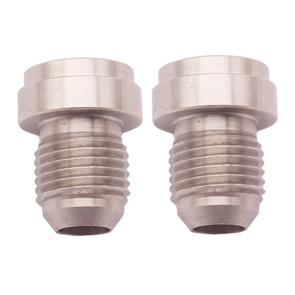 2 個 6AN 、 AN6 男性ステンレス鋼溶接オン/フィッティング溶接栓