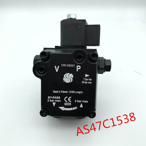 Image 1 - AS47C1538 Suntec oil pump for diesel oil or Oil gas dual burner One year warranty