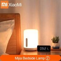 Xiaomi mijia lâmpada de cabeceira 2 inteligente luz controle voz interruptor toque mi casa app lâmpada led para apple homekit siri & xiaoai relógio