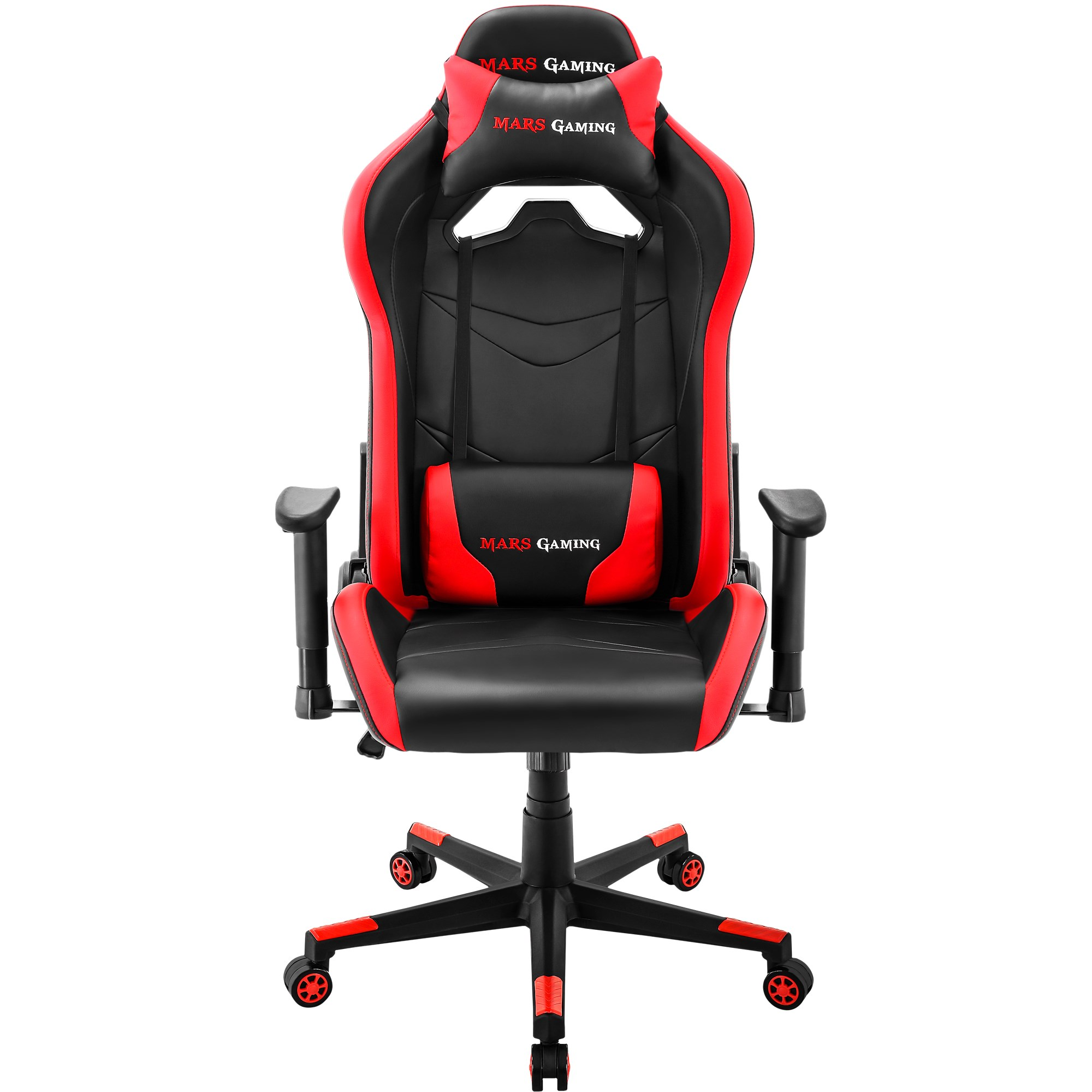 Mars Gaming MGC3-gaming Chair With Tilt And High Altitude Dimmable, Red