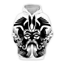 Tessffel Unisex Viking Tattoo Warriors Tracksuit NewFashion casual MenWomen 3DPrint Sweatshirts/Hoodie/shirts/Jacket s-15