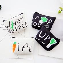 Women Cute Small Zipper Canvas Coin Purse Girls Money Bag Change Pouch Female Coin Key Holder Fashion Kids Purse Mini Wallets стоимость