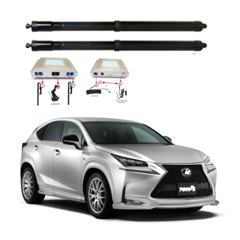 New Electric Tailgate Refitted For LEXUS NX200 Tail Box Intelligent Electric Tail Door Power Tailgate Lift Lock