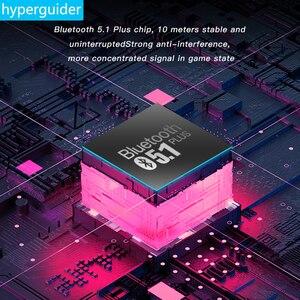 Беспроводные наушники hyperguide с поддержкой Bluetooth 5,1, TWS наушники с низкой задержкой, 60 мс, стерео, с объемным прослушиванием и шумоподавлением 360|Наушники и гарнитуры|   | АлиЭкспресс