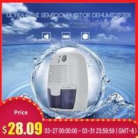 500ml Home Dehumidifier Air Dryer Moisture Absorbing Ultra mini Semiconductor Dehumidifier For Home Bedroom Office|Dehumidifiers| |  -